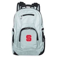 North Carolina State University Laptop Backpack in Grey