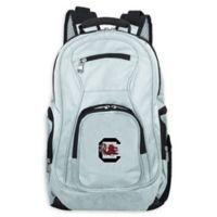 University of South Carolina Laptop Backpack in Grey