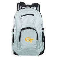 Georgia Tech Laptop Backpack in Grey