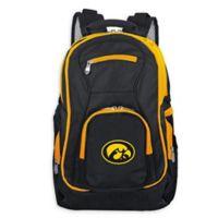 University of Iowa Laptop Backpack in Black