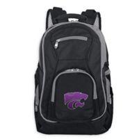 Kansas State University Laptop Backpack in Black