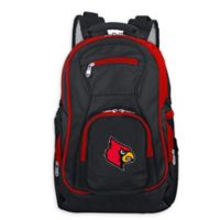 University of Louisville Laptop Backpack in Black