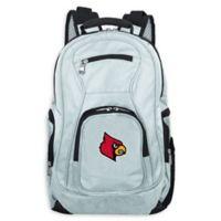 University of Louisville Laptop Backpack in Grey