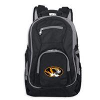 University of Missouri Laptop Backpack in Black