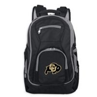 University of Colorado Laptop Backpack in Black