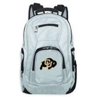 University of Colorado Laptop Backpack in Grey
