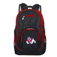California State University Fresno Laptop Backpack in Black