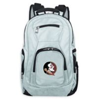 Florida State University Laptop Backpack in Grey