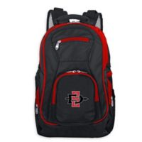 San Diego State University Laptop Backpack in Black