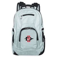 San Diego State University Laptop Backpack in Grey