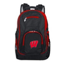 University of Wisconsin Laptop Backpack in Black