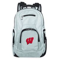 University of Wisconsin Laptop Backpack in Grey