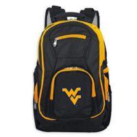 West Virginia University Laptop Backpack in Black