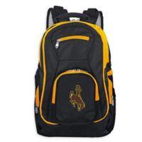 University of Wyoming Laptop Backpack in Black