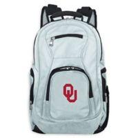 University of Oklahoma Laptop Backpack in Grey