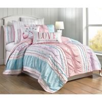 Levtex Home Bobbi Twin Quilt Set in Pink