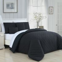 Avondale Manor Minnie 9-Piece King Comforter Set in Black/White
