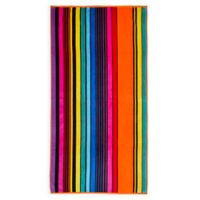 Rainbow Striped Beach Towel