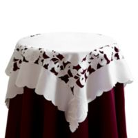 Lily 36-Inch Square Table Topper