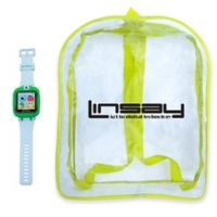Linsay® S-5WCL Selfie Smart Watch with Bag in Green