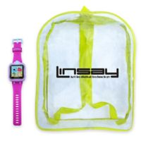 Linsay® S-5WCL Selfie Smart Watch with Bag in Pink