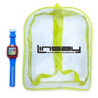 Linsay® S-5WCL Selfie Smart Watch with Bag in Blue