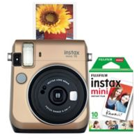 Fujifilm Instax Mini 70 Camera in Gold