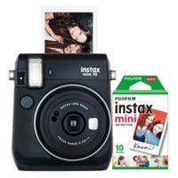 Fujifilm Instax Mini 70 Camera in Black