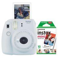 Fujifilm Instax 9 Mini Camera Bundle in Smokey White