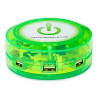 The ChargeHub X3 3-Port USB Super Charger in Green