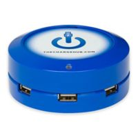 The ChargeHub X3 3-Port USB Super Charger in Blue