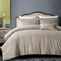 Hotel Royal Bloom 4-Piece Full/Queen Comforter Set in Royal