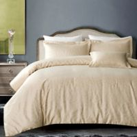 Hotel Royal Bloom 4-Piece Full/Queen Comforter Set in Champagne