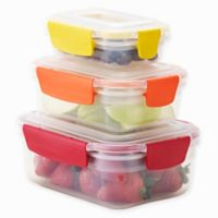 Joseph Joseph® Nest Lock™ 6-Piece Multicolor Food Storage Container Set