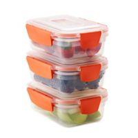 Joseph Joseph® Nest Lock™ 6-Piece 18 oz. Food Storage Set in Orange