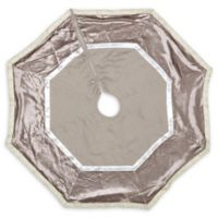 VHC Brands Allura Christmas Tree Skirt in Grey