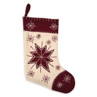 VHC Brands North Star Christmas Stocking in Khaki
