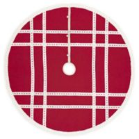 Margot 55-Inch Christmas Tree Skirt in Red