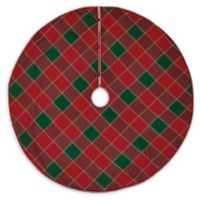 Tristan 55-Inch Christmas Tree Skirt in Red/Green