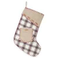 15-Inch Amory Christmas Stocking in Black