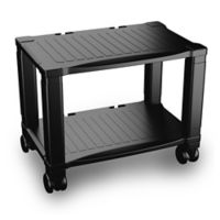 2-Tier Printer Stand in Black