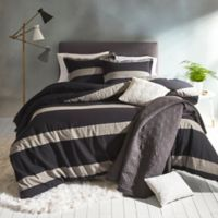 Suffolk King Comforter Set in Charcoal