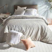 Shanti King Comforter Set in Grey