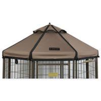 Advantek 4-Foot Gazebo Canopy Cover in Taupe