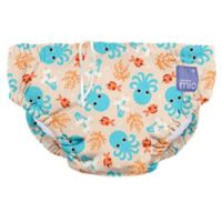 Bambino Mio® Size 6-12M Blue Squid Reusable Swim Diaper