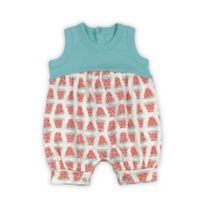 Finn + Emma® Size 0-3M Watermelon Organic Cotton Romper