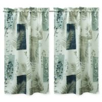 Bacova Taylor Window Curtain Panel Pair in Navy