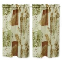 Bacova Taylor Window Curtain Panel Pair In Spice