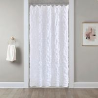 Easton 54 Inch X 78 Stall Shower Curtain In White