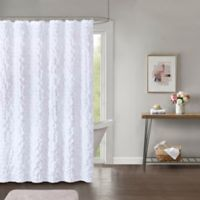 Easton 72-Inch x 84-Inch Shower Curtain in White